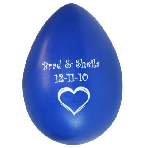 BRAD-SHEILA Wedding Egg Shaker
